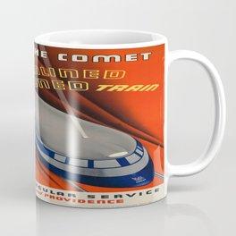 Vintage poster - The Comet Coffee Mug