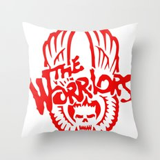 The Warriors  Throw Pillow