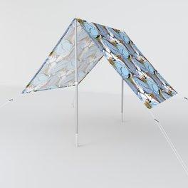 Great Blue Heron Tessellation (smaller units) Sun Shade