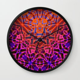 Ethnic Tribal Pattern G316 Wall Clock