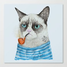 Sailor Cat I Canvas Print