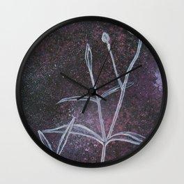 Blunt-Leaved Sandwort in Space Wall Clock