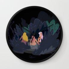 Night Pond Wall Clock