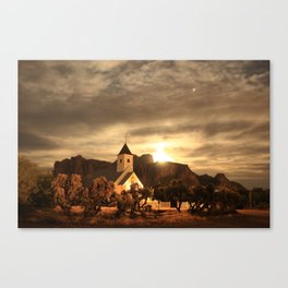 Jupiter Chapel Canvas Print