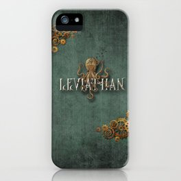 Leviathan - steampunk iPhone Case