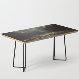 Foggy Forest Creek Coffee Table
