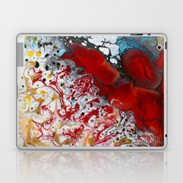 Abstract Field of Flowers - Vulpecula Laptop & iPad Skin