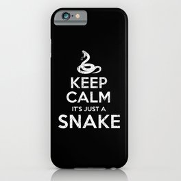 Kobra Keep Calm iPhone Case