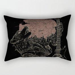 The Rock Werewolf Rectangular Pillow