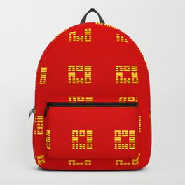 I Ching Yi jing – Symbols of Bagua 3 Backpack