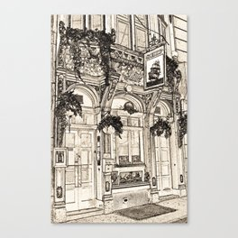 The Ship Public House London Canvas Print