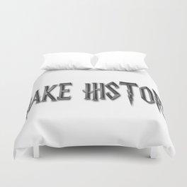 Make History Duvet Cover