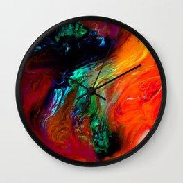 Beautiful Abstract In Eyes Wall Clock