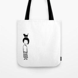 Insomniac Cat Lady Tote Bag