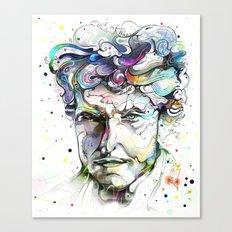 Dylan Portrait Canvas Print