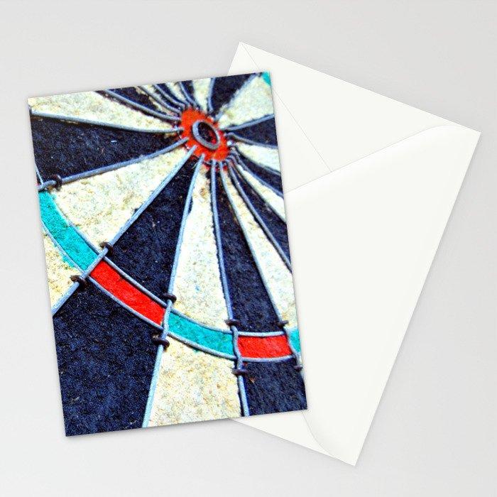 Dartboard Stationery Cards