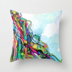 1/2 Throw Pillow