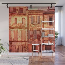 The Old Neighborhood, Rustic Buildings Wall Mural