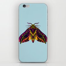Elephant Hawk Moth iPhone & iPod Skin