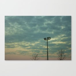 Switching Canvas Print