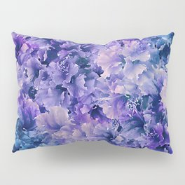 Hibiscus Flower Pattern Pillow Sham