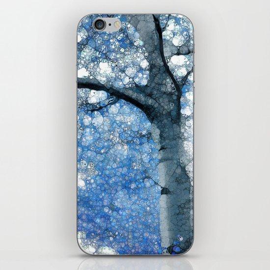 Magic Blue Tree iPhone & iPod Skin