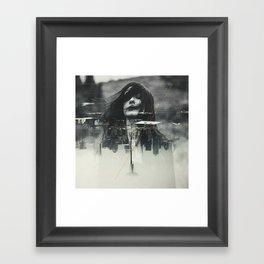 Depths Framed Art Print