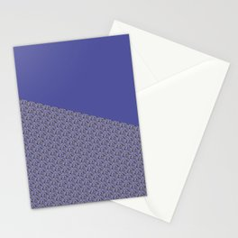 Purple Daisy pattern Stationery Cards