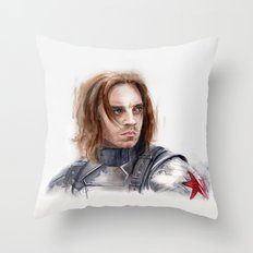 Who the hell is Bucky Throw Pillow