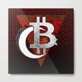 bitcoin turkey Metal Print
