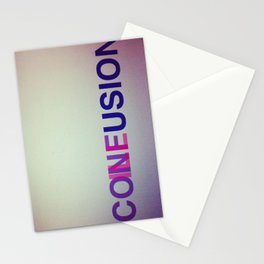 CONFUSION ILLUSION Stationery Cards