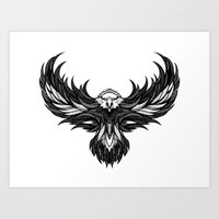 eagle Art Prints featuring Eagle by Andreas Preis