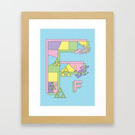 Stupid Modern Languages Framed Art Print