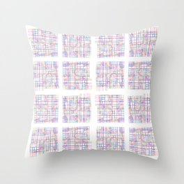 Be Urbane (City Blocks) Throw Pillow