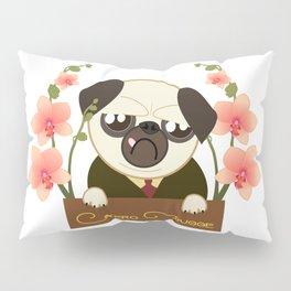 Pug. Great Detective Nero Pugge Pillow Sham
