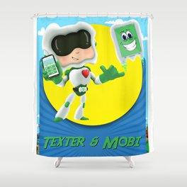 Texter & Mobi Shower Curtain