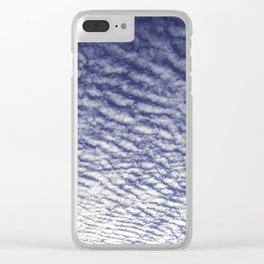 Clouds Clear iPhone Case