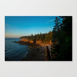Monument Cove Morning Canvas Print