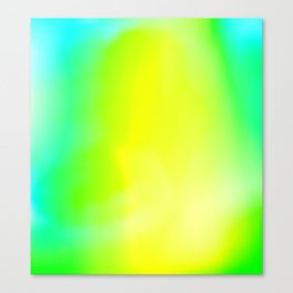Lime Radiance Canvas Print