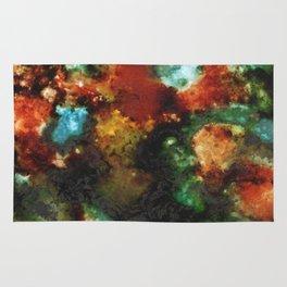 Geode III, Malachite Rug