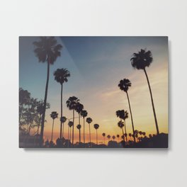 Palm Tree Summer Metal Print