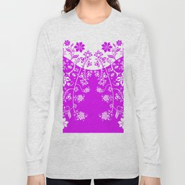 floral ornaments pattern wbp90 Long Sleeve T-shirt