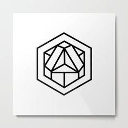 Sacred Geometry 2B Metal Print