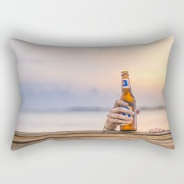 Here's my beer! Rectangular Pillow