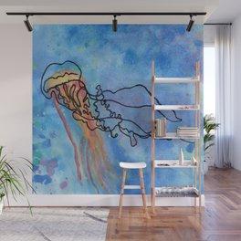 Jellyfish meet Jellyfish Wall Mural