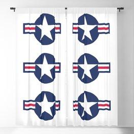 US Air force insignia Blackout Curtain
