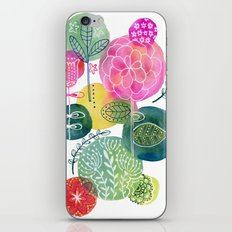 Blooming Circles iPhone & iPod Skin