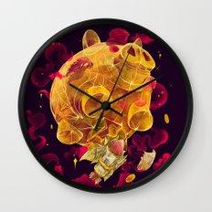 Piggy Boom Wall Clock