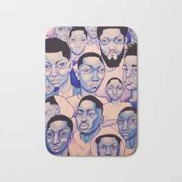 Black Boy Blues Bath Mat