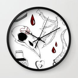 witches' basics Wall Clock